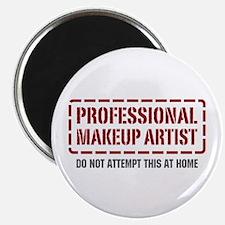 "Professional Makeup Artist 2.25"" Magnet (10 pack)"