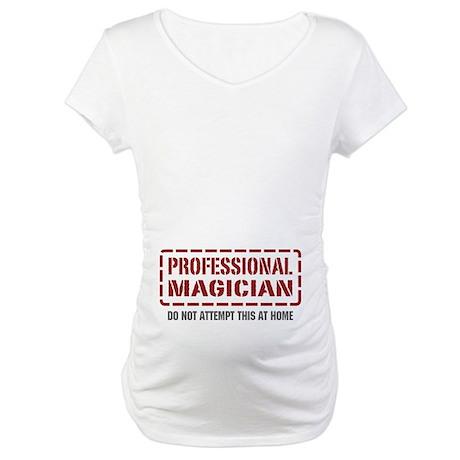 Professional Magician Maternity T-Shirt