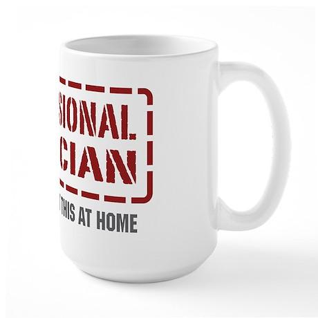 Professional Magician Large Mug