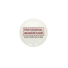 Professional Magician Mini Button (10 pack)