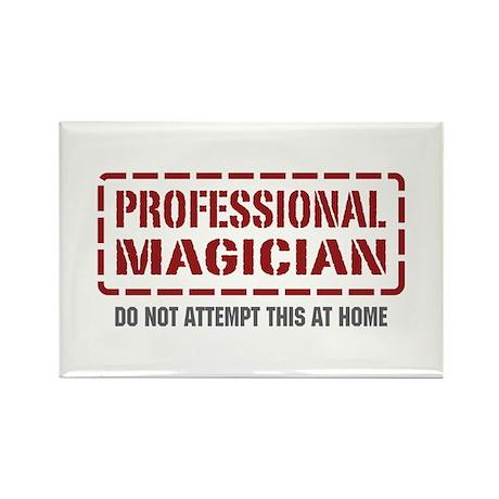 Professional Magician Rectangle Magnet