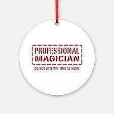 Professional Magician Ornament (Round)
