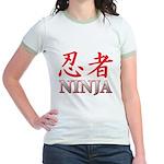 Ninja Jr. Ringer T-Shirt