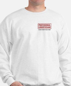 Professional Logistician Sweatshirt
