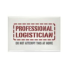 Professional Logistician Rectangle Magnet