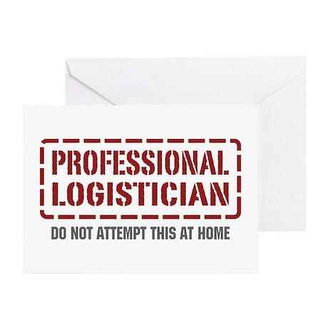 Professional Logistician Greeting Card