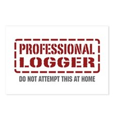 Professional Logger Postcards (Package of 8)