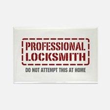 Professional Locksmith Rectangle Magnet