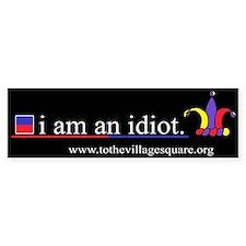 I am an idiot.