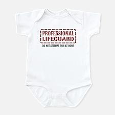 Professional Lifeguard Infant Bodysuit