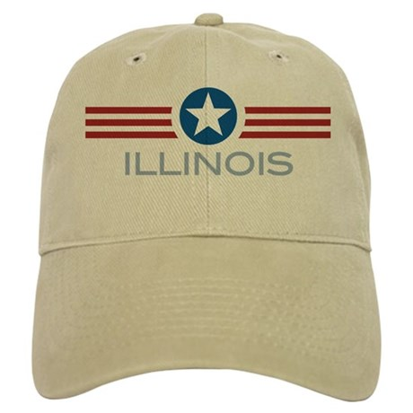 Star Stripes Illinois Cap
