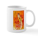 Japanese Geisha Playing the Flute Mugs