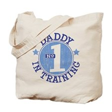 #1 DADDY IN TRAINING Tote Bag