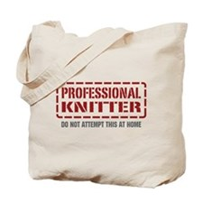 Professional Knitter Tote Bag