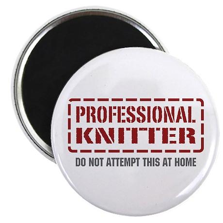 Professional Knitter Magnet
