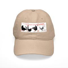 Fowl Lineup Baseball Cap