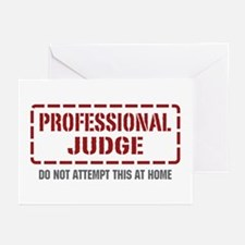 Professional Judge Greeting Cards (Pk of 20)