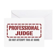 Professional Judge Greeting Card