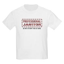Professional Janitor T-Shirt