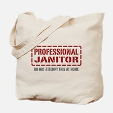 Professional Janitor Tote Bag