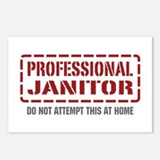 Professional Janitor Postcards (Package of 8)