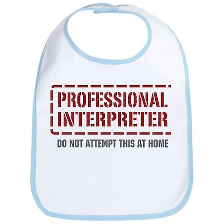 Professional Interpreter Bib
