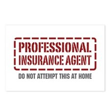 Professional Insurance Agent Postcards (Package of