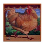 """Artwork from """"The One Chick S Tile Coaster"""