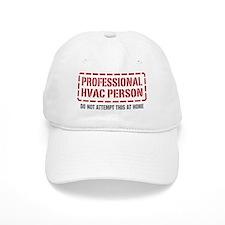 Professional HVAC Person Baseball Cap