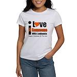 I Love Someone w/Leukemia Women's T-Shirt