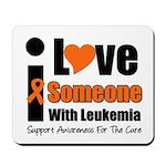 I Love Someone w/Leukemia Mousepad