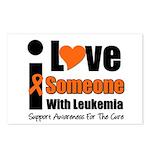 I Love Someone w/Leukemia Postcards (Package of 8)