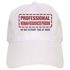 Professional Human Resources Person Baseball Cap