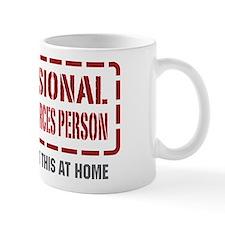Professional Human Resources Person Small Mug
