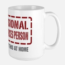 Professional Human Resources Person Large Mug