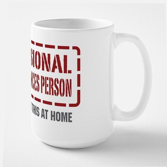 Professional Human Resources Person Large Mug