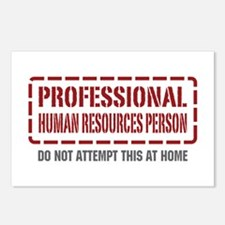 Professional Human Resources Person Postcards (Pac