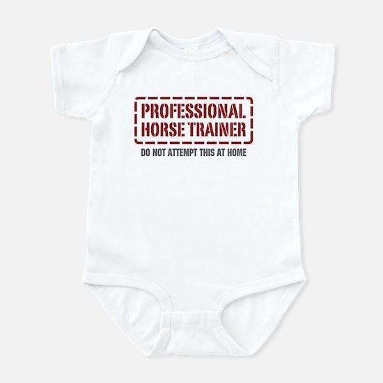 Professional Horse Trainer Infant Bodysuit