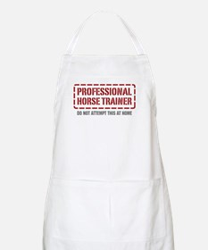 Professional Horse Trainer BBQ Apron