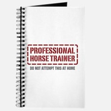 Professional Horse Trainer Journal