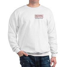 Professional Hockey Player Sweatshirt