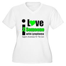I Love Someone w/Lymphoma T-Shirt
