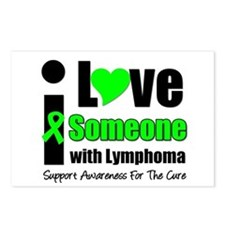I Love Someone w/Lymphoma Postcards (Package of 8)