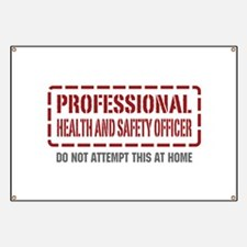 Professional Health and Safety Officer Banner