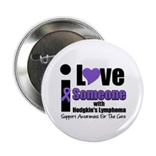 """I Love Someone w/Lymphoma 2.25"""" Button (10 pack)"""