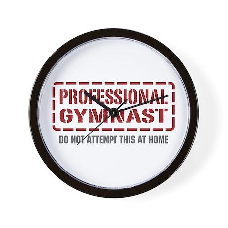 Professional Gymnast Wall Clock