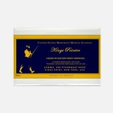 KP Blue Label Rectangle Magnet