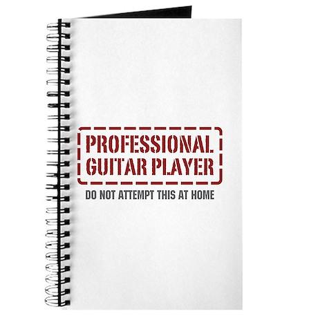 Professional Guitar Player Journal