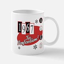 1967 Birthday Mid Century Mugs
