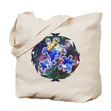 Earth Turtles Tote Bag